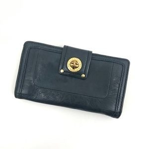 Marc by Marc Jacobs Dark Green Fold Wallet